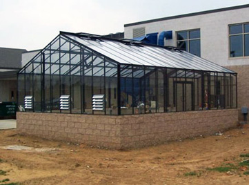 Collegiate Glass Greenhouse Package