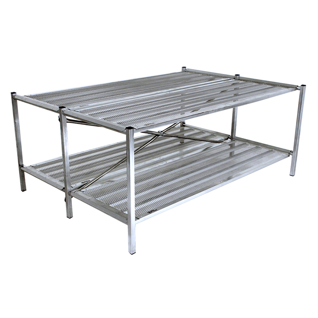 Double Bench Display 4 Foot Greenhouse Megastore