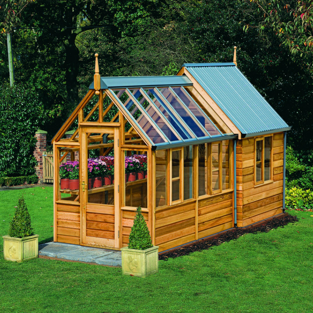 Rosemoore Combi Greenhouse/shed