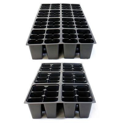 Inserts Seed Starter Kit 10 10 #1203 10 Humidity Domes + 36 Cell Trays +