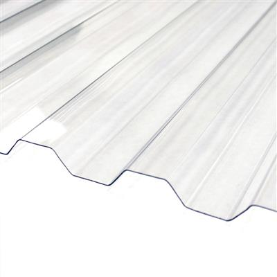 Clear Corrugated Polycarbonate