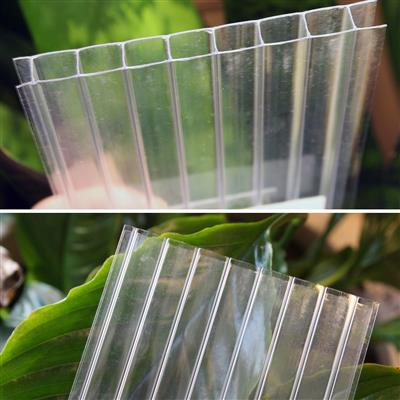Quick Ship Polycarbonate 8mm Clear Greenhouse Megastore