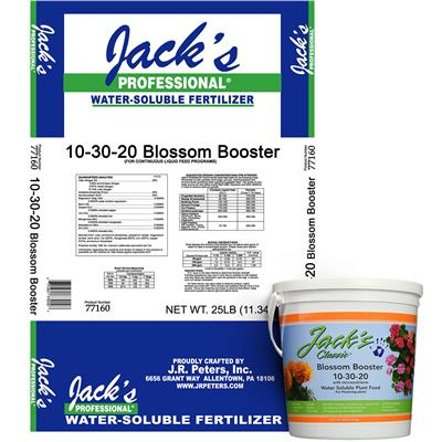 Jack's Fertilizer, 10-30-20 Blossom Booster