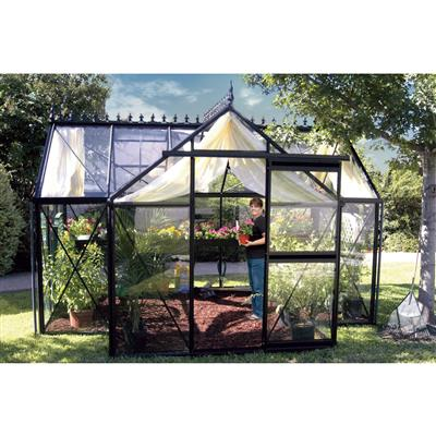 Victorian Orangerie Greenhouse With Accessory Kit